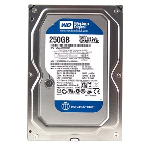 Sata 250gb laptop