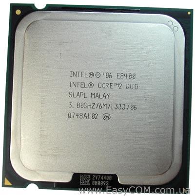 Core 2 dual E8400
