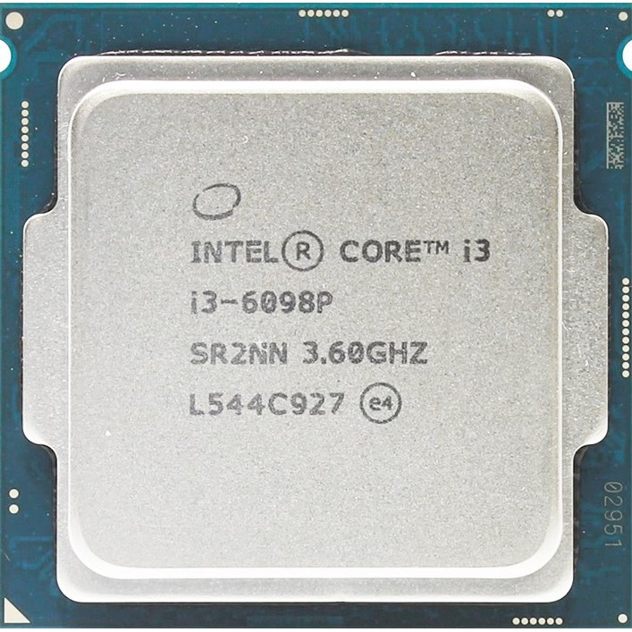 Cpu i3 6098p + fan zin