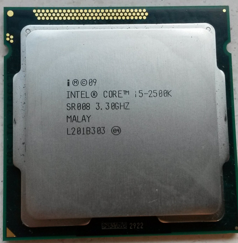 Cpu-I5 2500+ Fan Zin